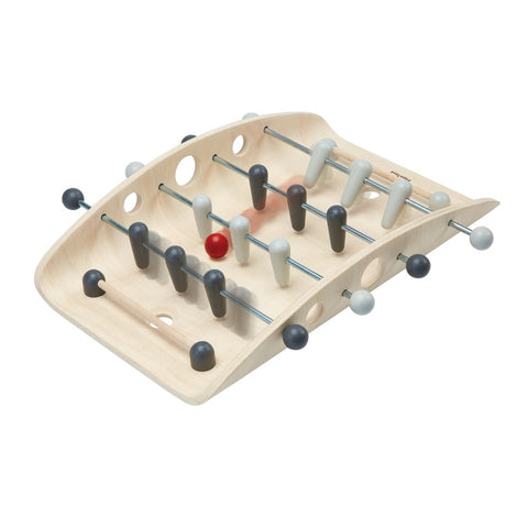 Plan Toys montreal quebec canada 4639 soccer foosball babyfoot mini
