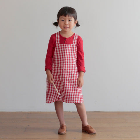 Fog Linen Work Montreal Quebec Canada tablier de cuisine apron linen lin cooking accessories for kids accessoires pour enfants