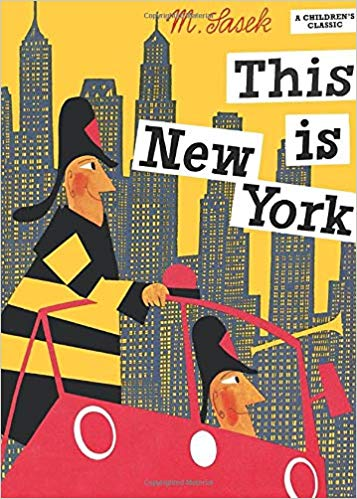 miroslav sasek this is new-york book
