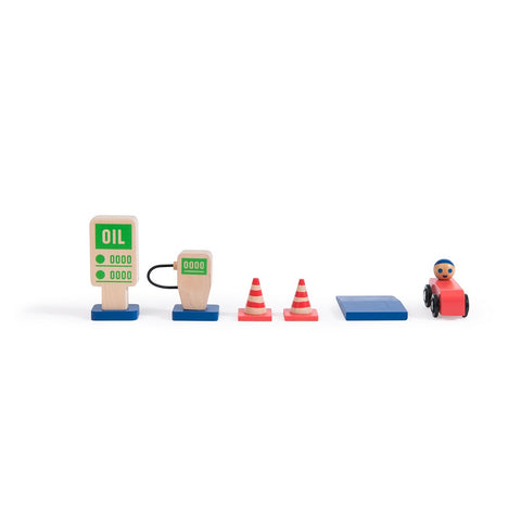 moulin roty station d'essence gas station aurelien debat car voiture vehicle véhicule garage toy toys jouet jouets kids enfants 720408
