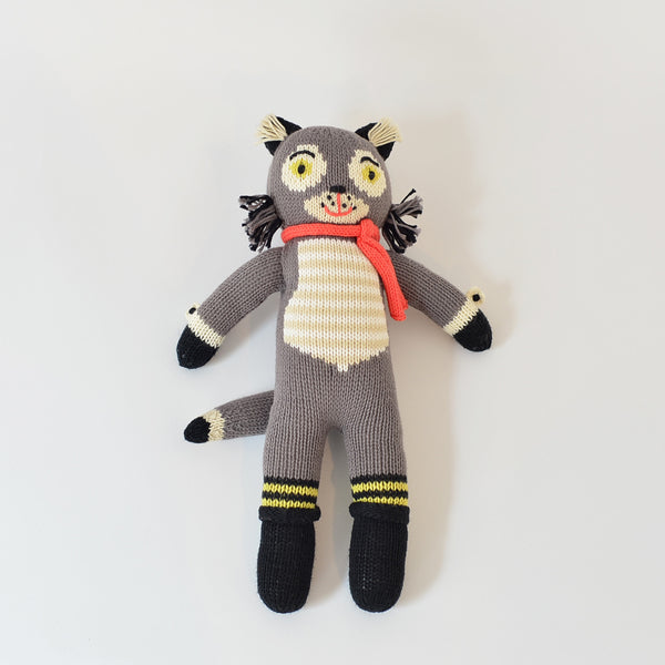 Beauregard le loup Peluche Blabla Kids wolf doll montreal quebec canada