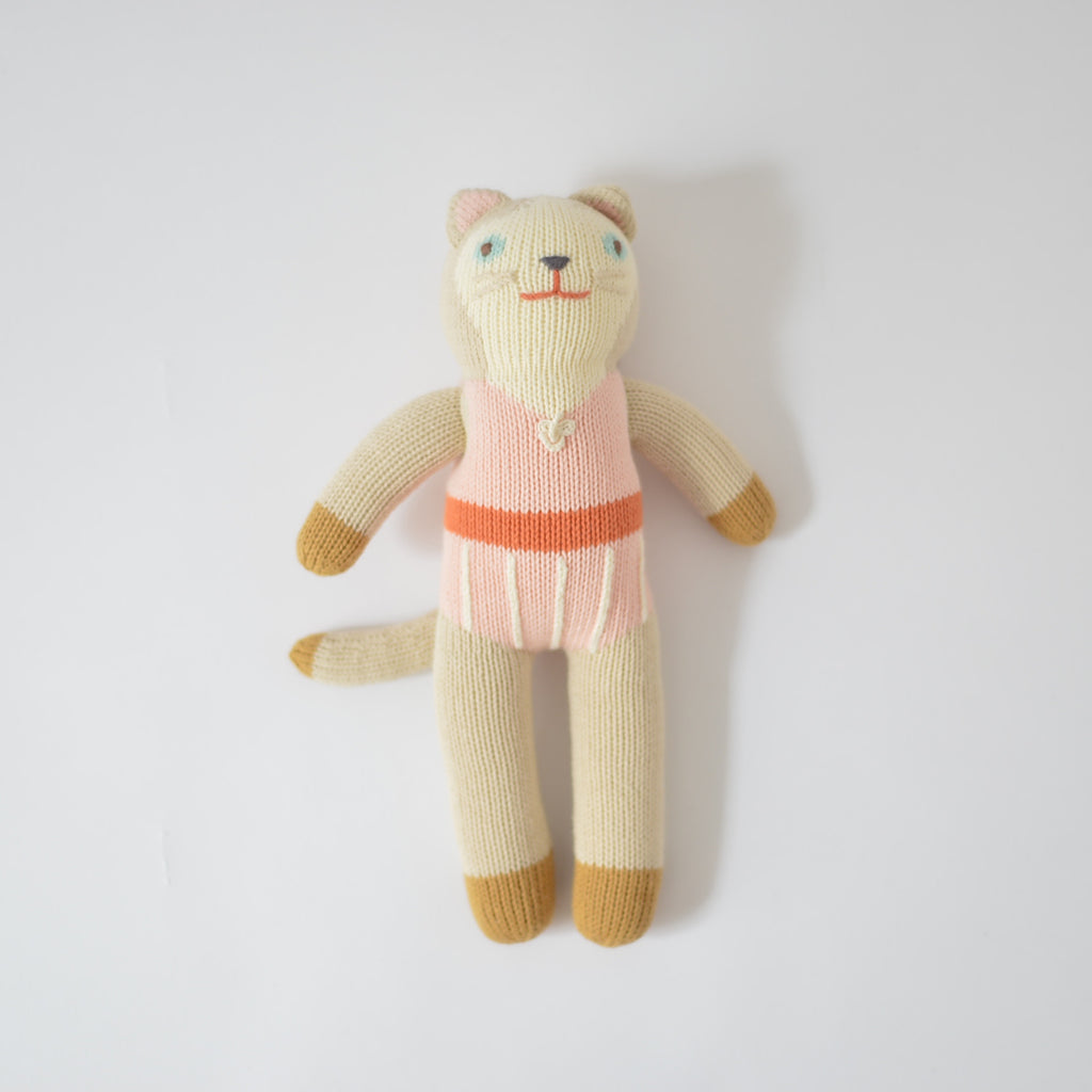 Colette le chat Peluche Blabla Kids cat doll montreal quebec