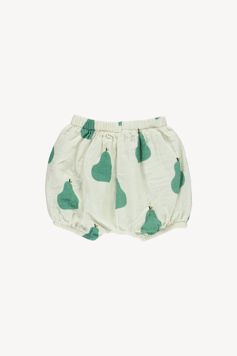 fin & vince ss20 pear bubble short bloomers bloomer cache-couche baby bébé organic biologique coton cotton été summer vêtements clothing apparel