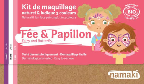 namaki maquillage pour enfants kids make up fée et papillon