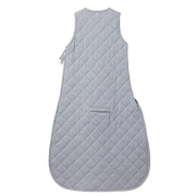 nature baby quilted duvet sleeping bag grey marl
