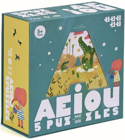 londji montreal quebec canada fire the imagination puzzles casse-têtes 5 AEIOU 3-6 ans