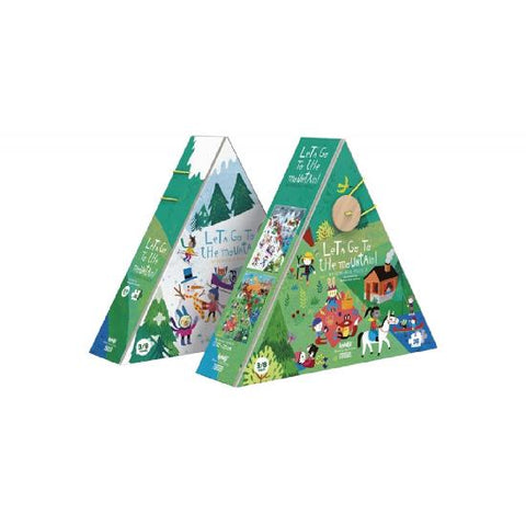 londjii puzzle lets go to the mountain casse-tête montagne PZ450U