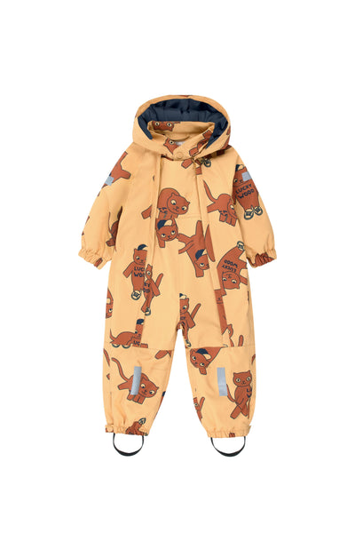tiny cottons aw19 luckywood montreal quebec canada outerwear winter suit cats combinaison hiver snow one piece aw19-295 baby clothing vêtements pour bébé