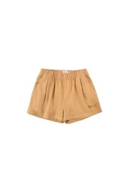 tiny cottons ss20 dolce far niente il bassotto short shorts chien saucisse dog ss20-159 toffee clothing clothes apparel vêtements kids enfants