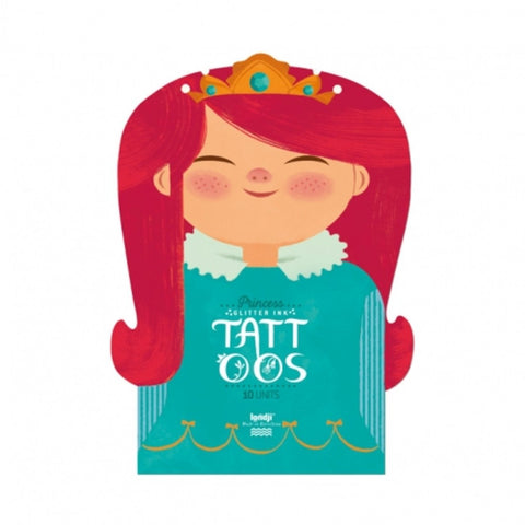 Londji montreal quebec canada temporary tattoos princess princesse L0718 tatouages temporaires kids enfants