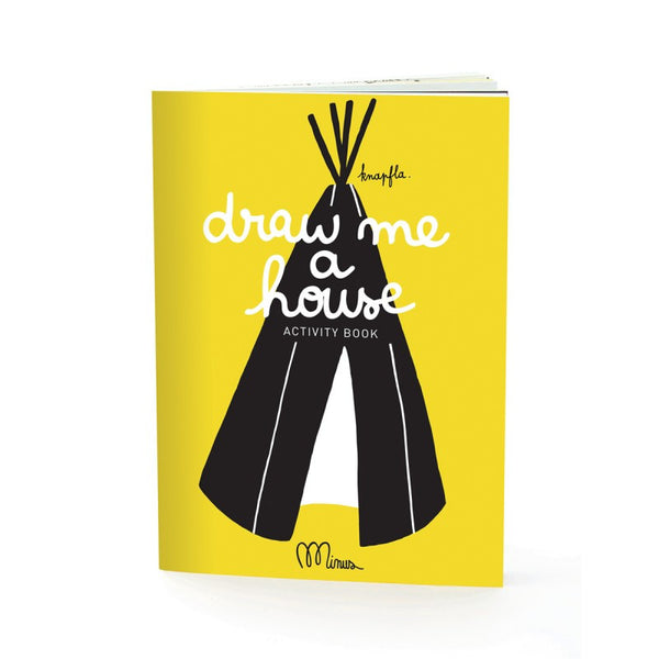 Draw me a house, Activity book, Minus edition