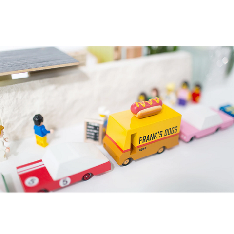 candylab frank's dogs hotdog hot dog truck voiture camion jouet toy F171