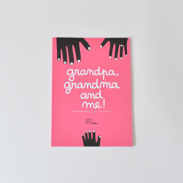 Grandad, grandma and I, Activity book, minus editions