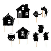 moulin roty trois petits cochons ombres du soir shadow puppets 711140