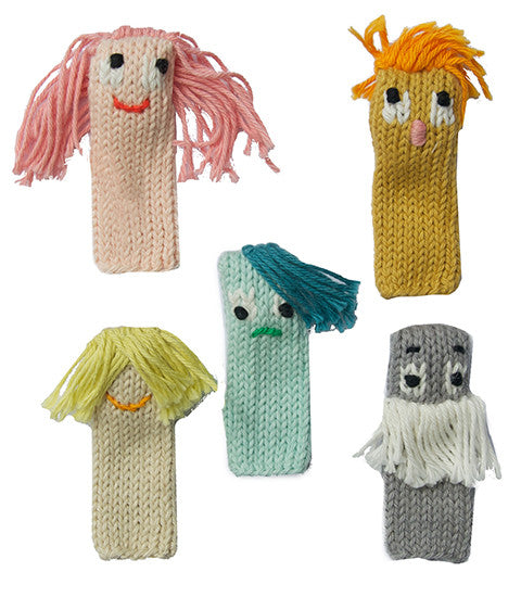 marionnettes émotions blabla kids expressionist finger puppets montreal quebec