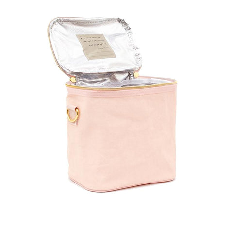 so young lunch poche blush rose petite poche