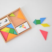 Jeu de table tangram par Vilac
