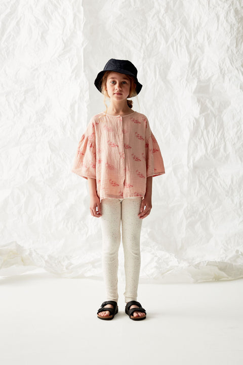 the campamento ss20 les bons vivants grapes shirt blouse rose pink tc-ss20-08