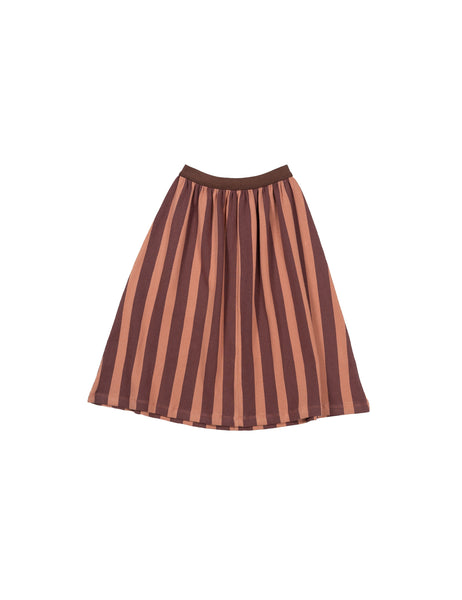 the campamento montreal quebec canada jupe midi striped rib skirt tc-aw31 vêtements enfants kids clothing