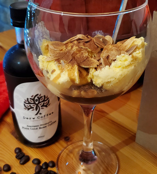 The Derw Cold Brew Coffee Affogato