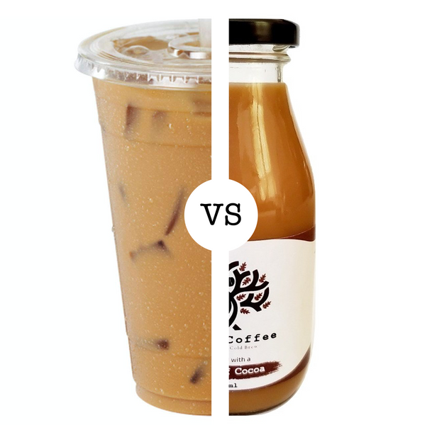 Iced Coffee vs Cold Brew Coffee