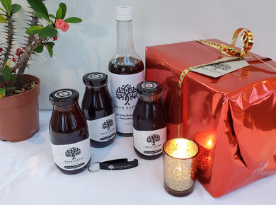 black cold brew coffee gift box