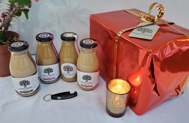 Christmas festive cold brew coffee gift box