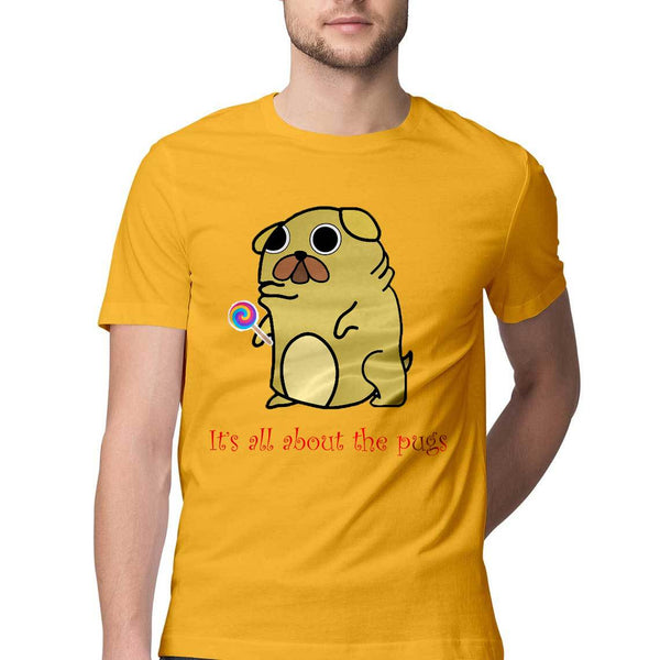 It's all about the pugs by Siddharth Jena – Short-Sleeve Unisex T-Shirt