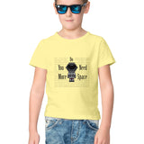 Space by Chaitanya Tarase- Kids' tee-shirt