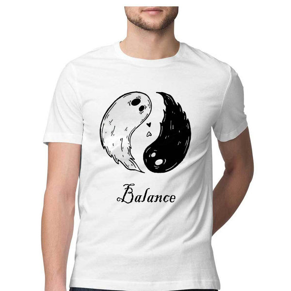 Balance by Siddharth Jena – Short-Sleeve Unisex T-Shirt