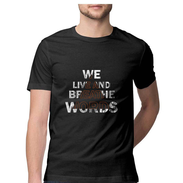 Words By Chaitanya Tarase - Half Sleeve Unisex T-Shirt