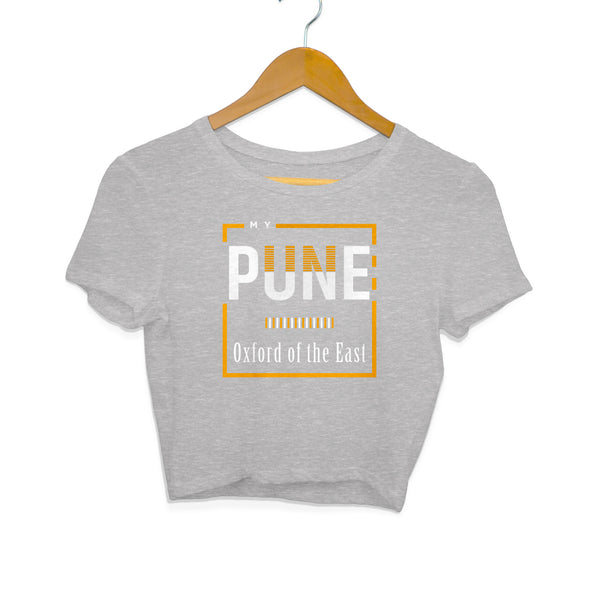 Pune By Chaitanya Tarase - Crop Tee