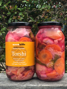 Torshi Mediterranean Style Mix Vegetable Pickles 1kg