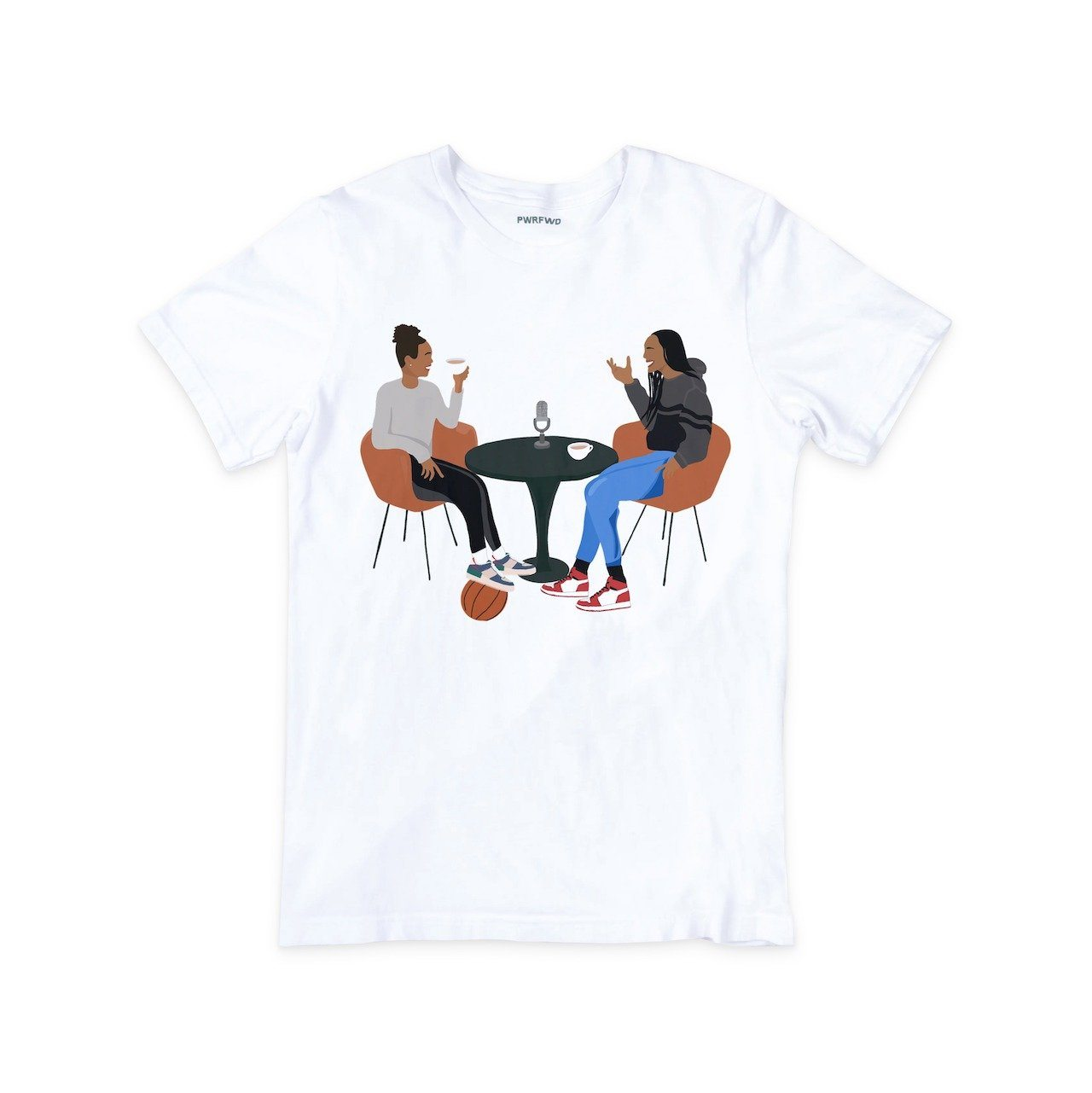 A'ja Wilson Tea Time T-Shirt