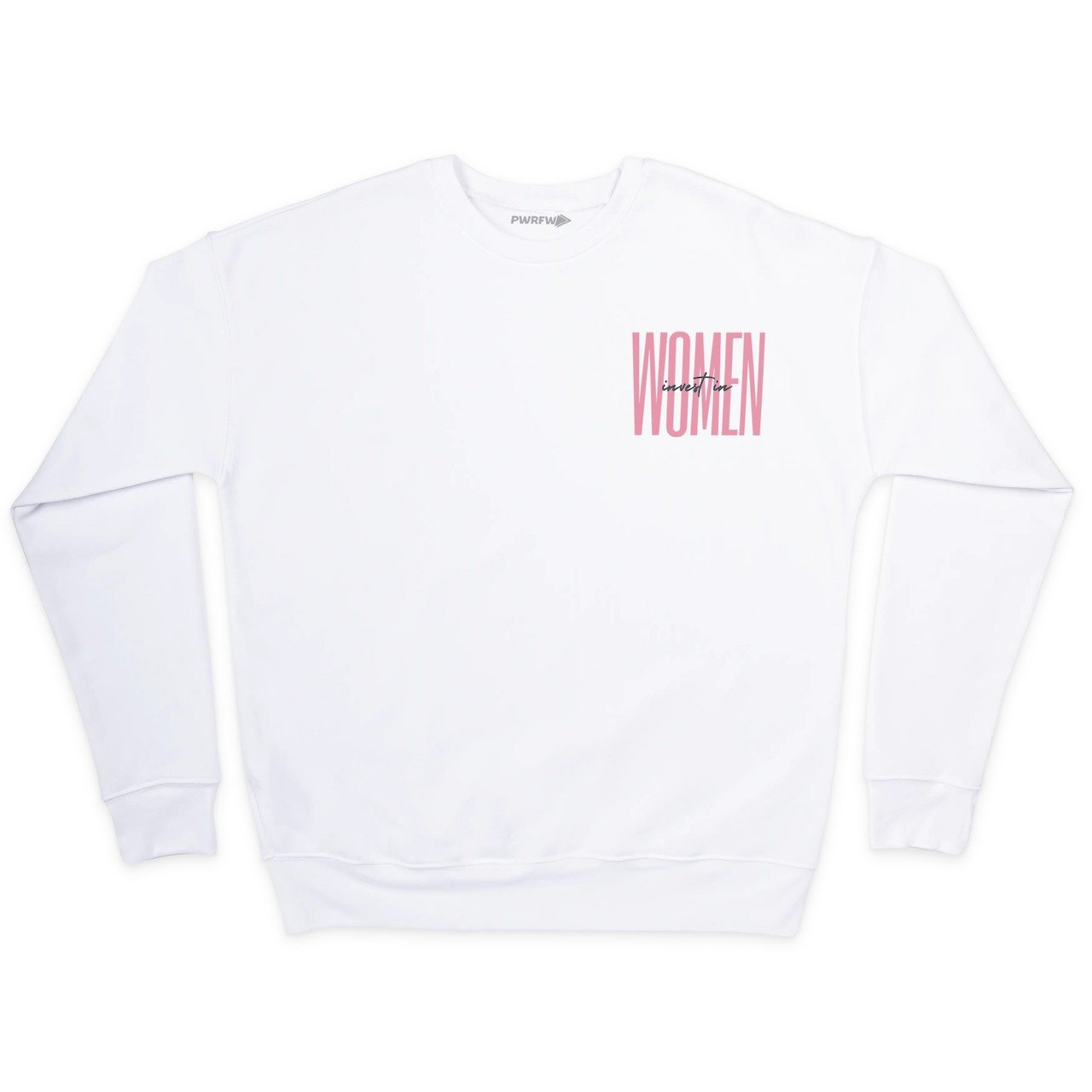 Kelsey Trainor Invest in Women Crew Neck Sweatshirt