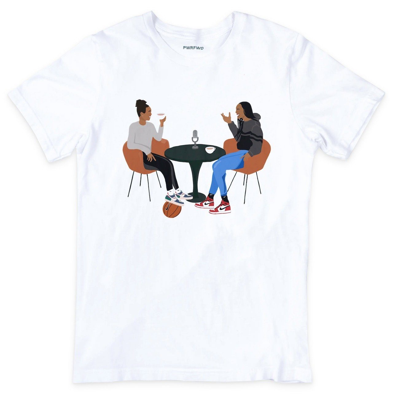 Napheesa Collier Tea Time T-Shirt