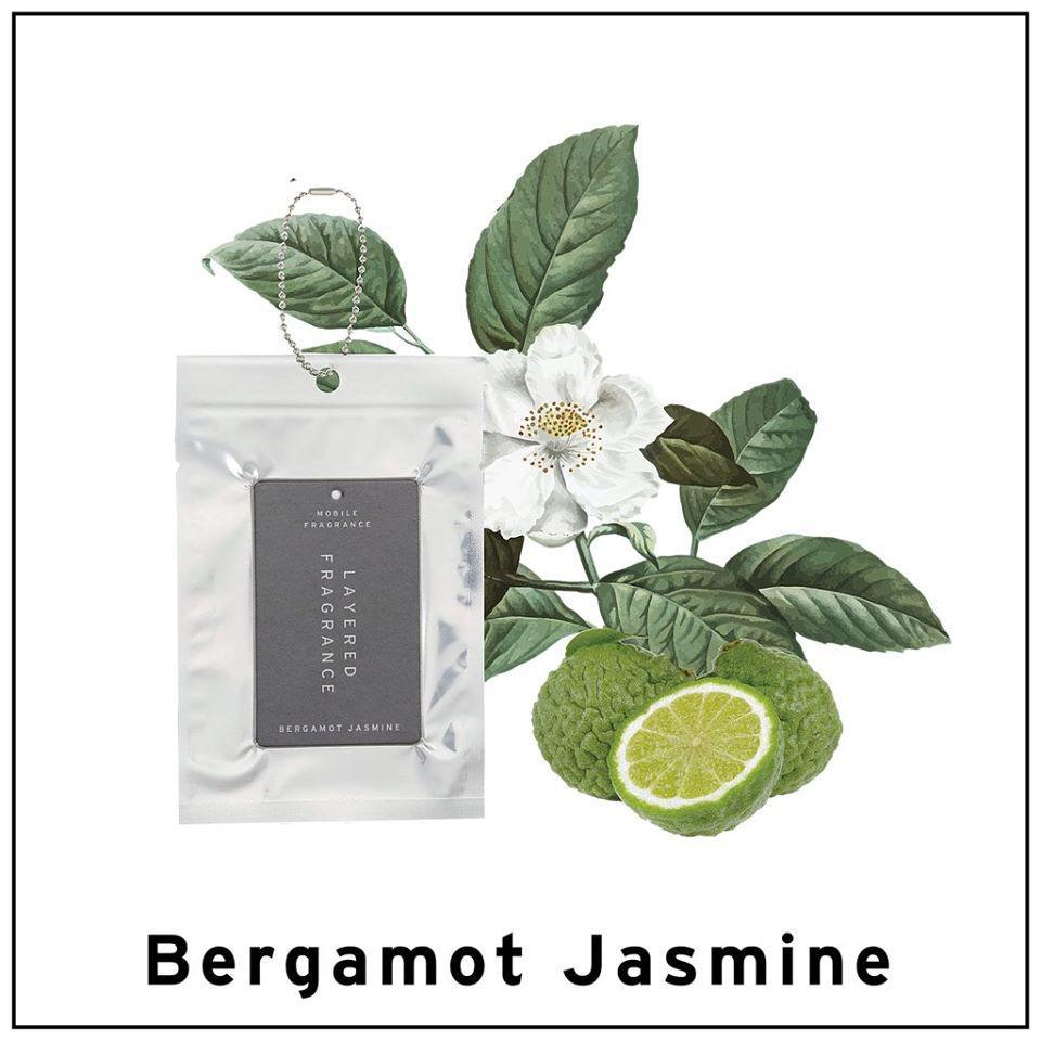 Layered Fragrance Mobile Fragrance Bergamot Jasmine 佛手柑茉莉香水卡片