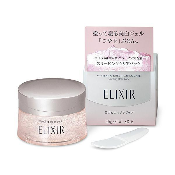 Elixir Whitening & Skin Care By Age Sleeping Clear Pack 怡丽丝尔纯肌净白晶润睡眠面膜