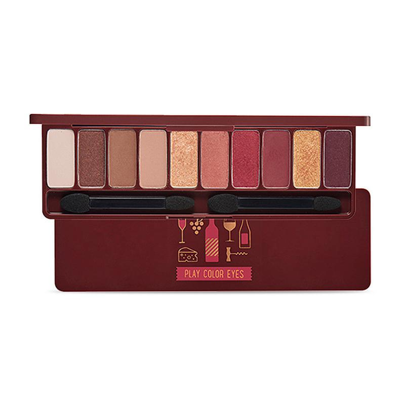 Etude House Play Color Eyes Red Wine 爱丽小屋红酒盘
