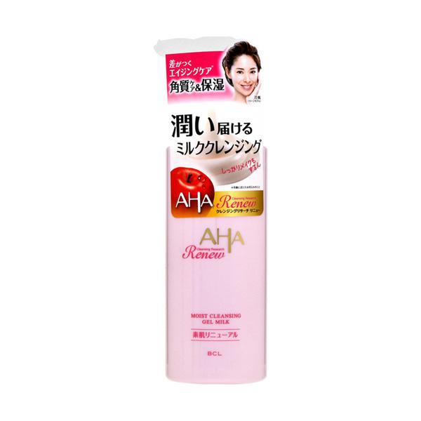 BCL Cleansing Research Renew Moist Gel Milk Cleansing 日本BCL温和亮白保湿卸妆乳