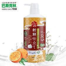 Load image into Gallery viewer, Bathclin Nagomi Body Soap Fresh 清新柑橘沐浴露