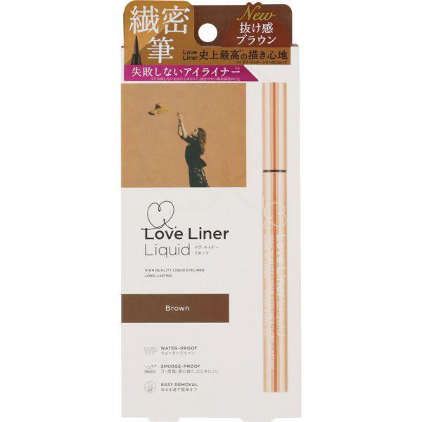 MSH Loveliner Liquid Eyeliner - Brown 自然棕极细眼线液笔