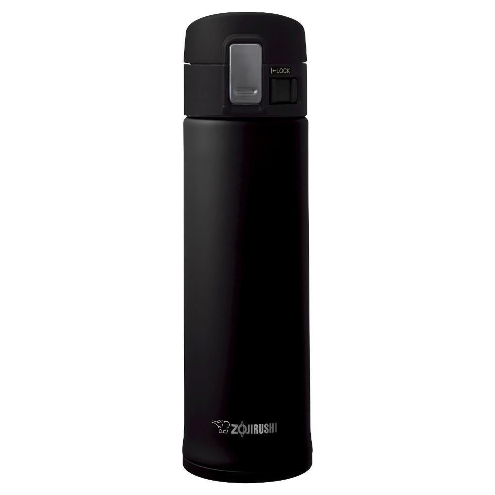 Zojirushi SM-KHE48BA Stainless Steel Mug Black 480ml 象印不锈钢保温杯KHE48 (哑光黑)