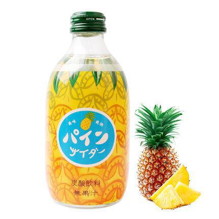 Load image into Gallery viewer, Tomomasu Pine Cider 水果微气泡饮 - 菠萝