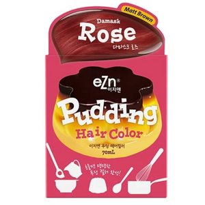 EZN Pudding Color #2 Damask Rose 布丁染发膏 - 玫瑰红色