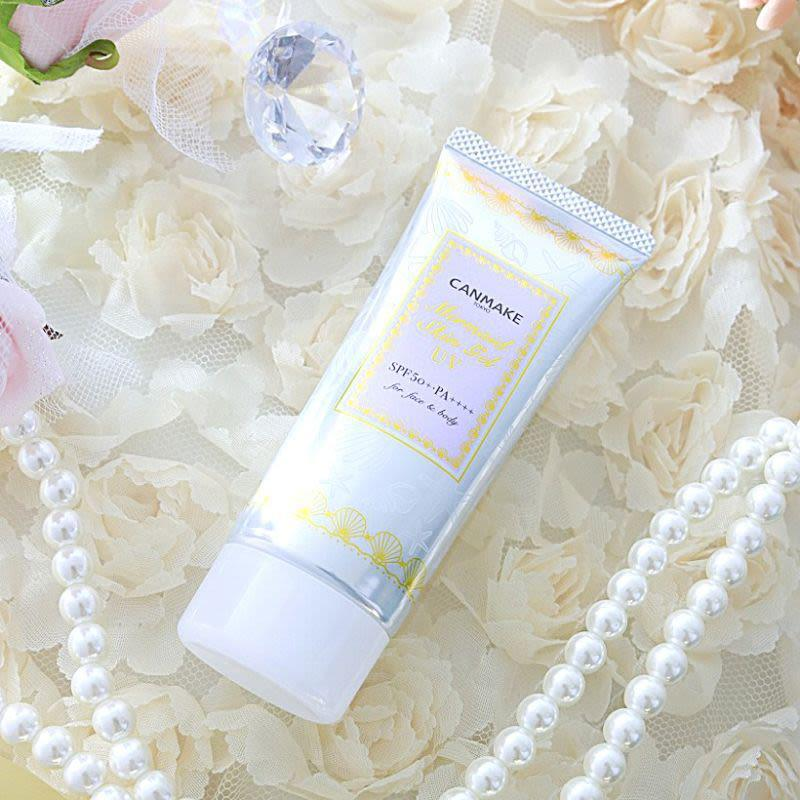 Canmake Mermaid Skin Gel 美人鱼防晒隔离凝乳 SPF 50+  PA ++++