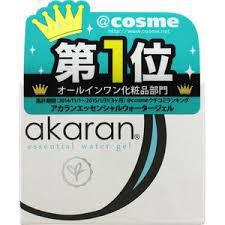 Akaran Essential Water Gel All In One 无添加超保湿美容面霜120g