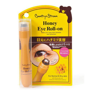 Country & Stream Natural Eye Roll-On 日本Country & Stream蜂蜜精华轻薄保湿眼霜(滚珠式)