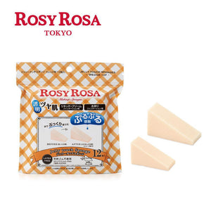 Rosy Rosa Jelly Touch Sponge Wedge Shaped 12p 上妆神器果冻海绵三角形12入
