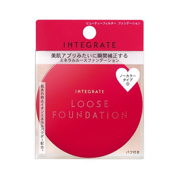 Shiseido Integrate Beauty Filter Foundation #00 透明无暇美肌散粉00透亮色